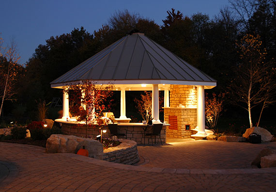 Lifestyle Reflection, a Galena, Ohio, landscape design project by Peabody Landscape Group.