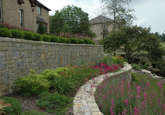 Wall To Wall, a Powell, Ohio, landscape design project by Peabody Landscape Group.