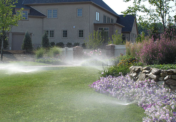 Aqualawn Irrigation Services is an affiliate company of Peabody Landscape Group landscaping company in Columbus Ohio