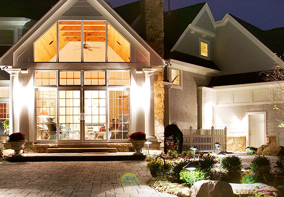 Illumiscapes Architectural and Accent Lighting is an affiliate company of Peabody Landscape Group landscaping company in Columbus Ohio
