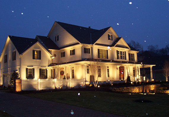 Landscape Lighting Design Peabody