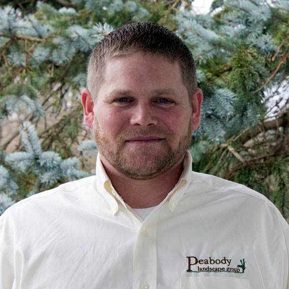 Dave Smith is in residential design-build sales for Peabody Landscape Group