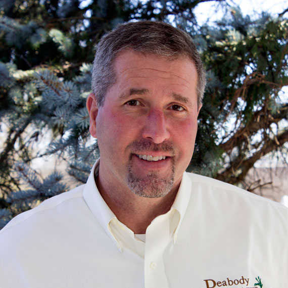 Patrick Lynch is in residential design-build sales for Peabody Landscape Group